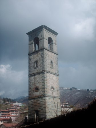 The bell tower of S.Pietro